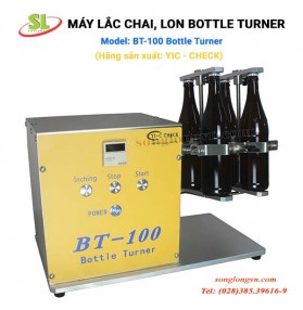 Máy lắc chai, lon Bottle Turner BT-100 YIC-CHECK